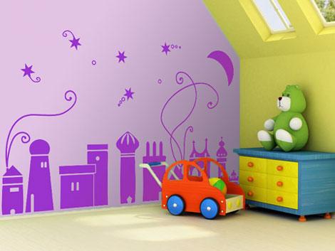 vinilos para paredes infantiles